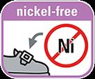Части из металла не содержат никель